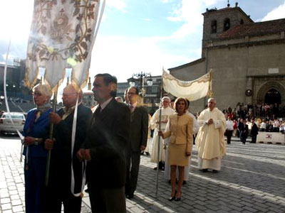 Procesión Octava del Corpus Christi, Béjar
