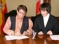 Firma Convenio Ayuntamiento de Béjar y Cruz Roja Béjar