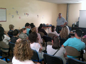Sesión informativa sobre Servicio del Hogar Familiar, Béjar 2012