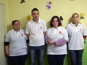 Voluntarios de Cruz Roja Béjar