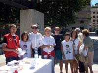 Día de la banderita en Béjar