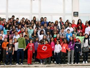 Encuentro de Cruz Roja Juventud en Béjar