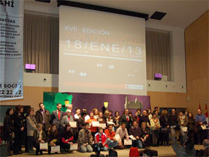 Galardonados Premios Solidaridad Cruz Roja Salamanca