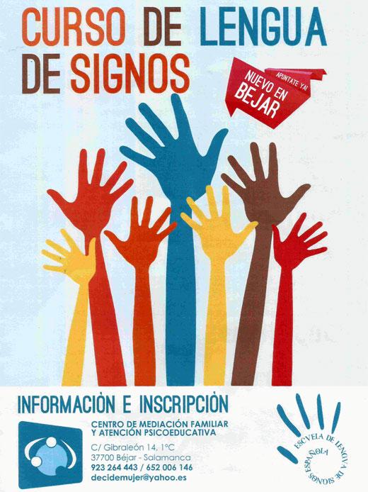 cartel anunciado de la actividad