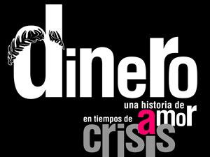 Cartel obra de Teatro Dinero del grupo La Lengua Teatro