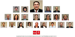 Candidatura PSOE Béjar