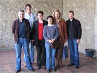 Profesores participantes en el proyecto Leonardo da Vinci en Ultrecht