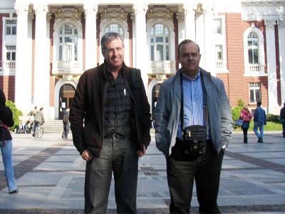 Profesores del Mateo Hernández de Béjar en Sofia