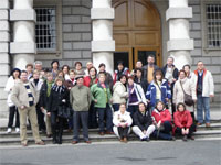 Alumnos del Mateo Hernández de Béjar en Dublin