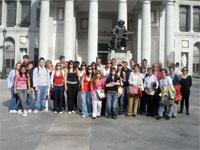 Alumnos del Centro Mateo Hernandez de Béjar en Madrid