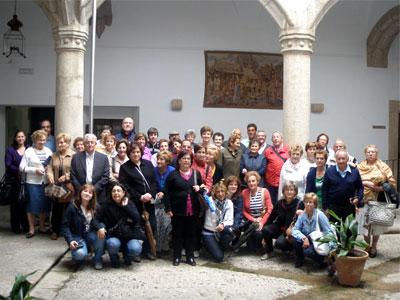 Estudiantes del MAteo Hernández de Béjar en su visita a Extremadura