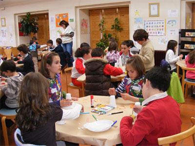 Primera jornada de los talleres para ni os de equinoccio for Taller cocina ninos