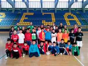 Escolares del Campus de Futbol Sala, Béjar