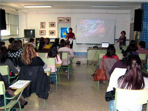 actividad del centro de mediacion escuela de padres en bejar