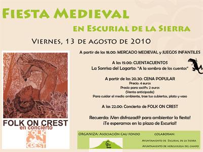 Fiesta Medieval Escurial de la Sierra