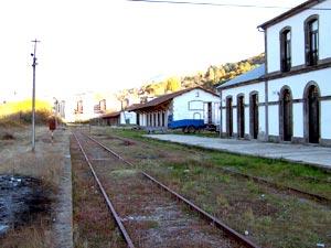 Estación del tren de Béjar