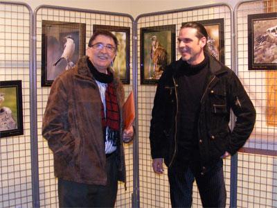 Cipriano González y Mario Cea, Exposición Un instante con las Aves
