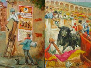 Exposición de López Canito en Béjar
