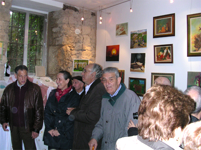 Inauguración de la exposición, Mogarraz (Salamanca)