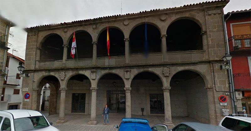 fachada del ayuntamiento de bejar