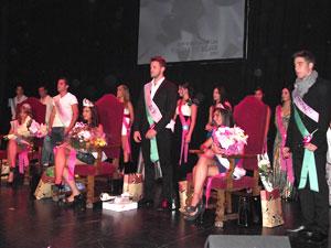 Elección Reina Fiestas Béjar 2011