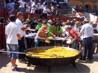 Paellada para la Peñas, Fiestas Béjar 2009