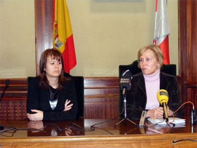 Concepción Pérez Escanilla y Ana Iglesias