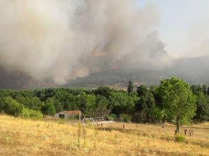 Incendio en Solana de Ávila, Foto: Twitter RadioBéjar