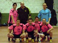 Equipo ganador del Primer torneo 24 horas de Fútbol Sala en Barco de Ávila