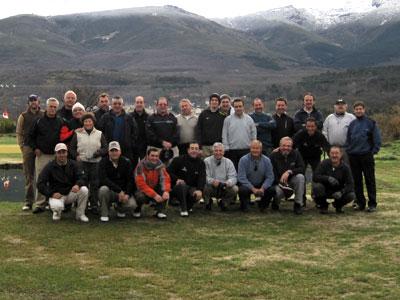 Jugadores de Golf de Béjar. 2012