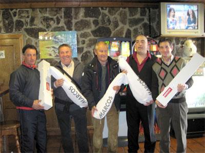 Foto Ganadores Torneo de Carnaval de Golf, Béjar