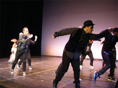 """""""Gran gala de creadores"""", Ballet contemporaneo de Burgos"""
