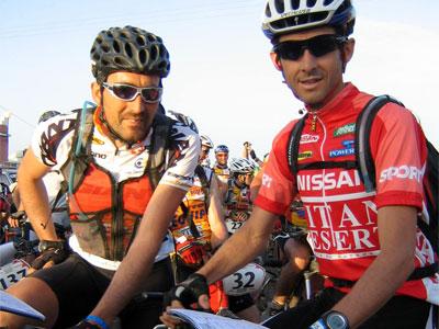 Miguel y Roberto Heras