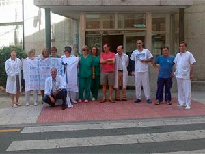Trabajadores del Hospital de Béjar