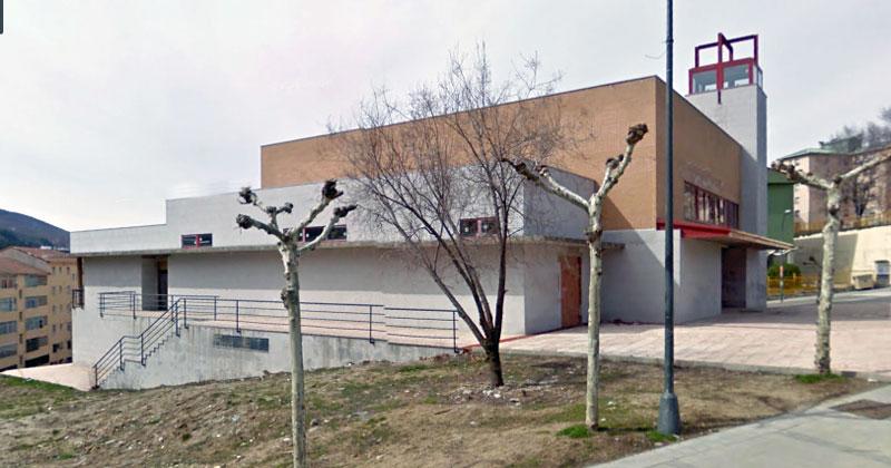 nueva iglesia de Dan Miguel de la parroquia de los Praosenla zona de Bañaduras