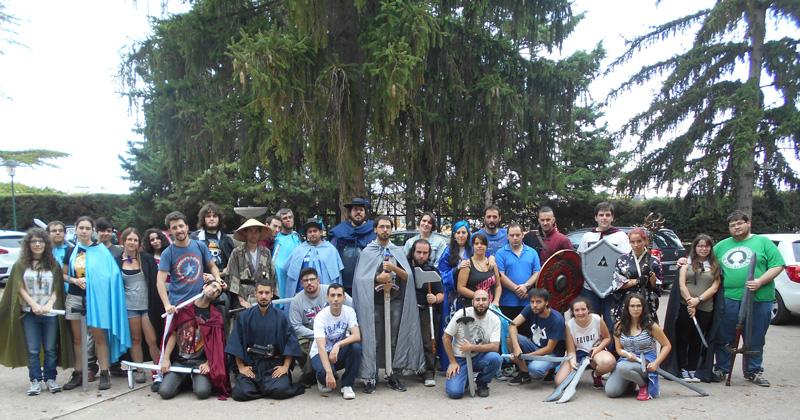 Participantes en el II encuentro Medieval del consejo de la Juventud