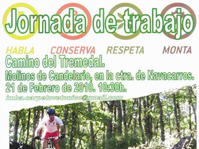 Jornada de Limpieza Camino del Tremedal, Candelario