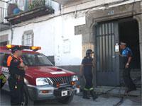 Incendio en el Barrio de La Antiga, Béjar