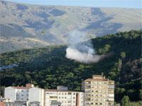 Incendio en el Monte del Castañar, Béjar