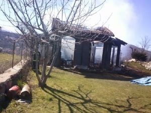 Casa Calcinada. Incendio en Béjar