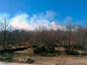 Incendio en la Comarca de Béjar