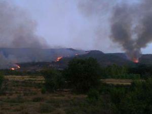 Incendio desde Becedas