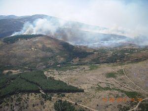 Incendio Solana de Ávila