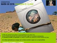 Campaña contral el cambio climático, Intermon Oxfam