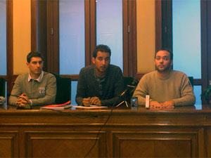 Rueda de prensa de Izquierda Unida en Béjar
