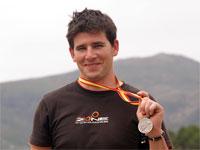 Iván Izquierdo, subcampeón de España de Trial