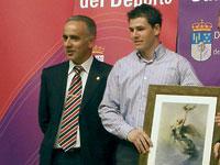 Iván Izquierdo, premio diputación 2007