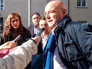 Javier Garrido Novoa junto a Fernando Pablos y Ana Muñoz de la Peña