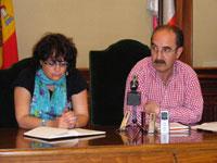 Juan Tomás Sánchez y Blanca Cerrudo