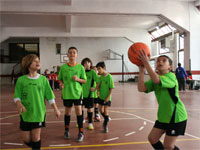 Juegos Escolares, Baloncesto